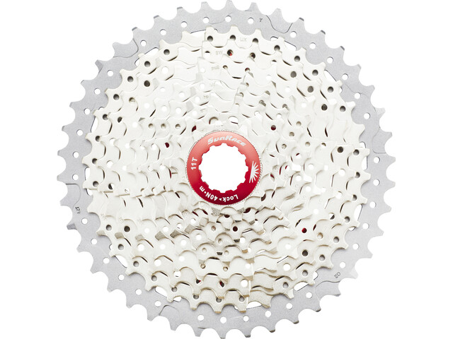 SunRace CSMX3 Cassette 10-speed, metallic